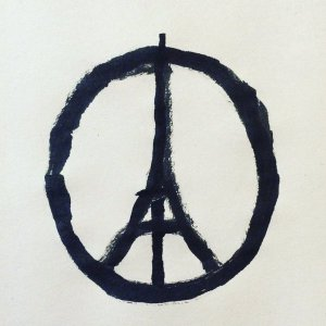 Pray for Paris - Jean Jullien