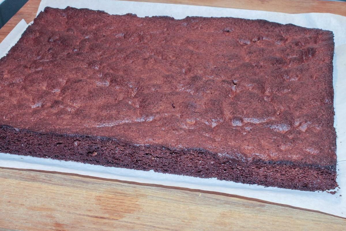 Gâteau sapin au chocolat