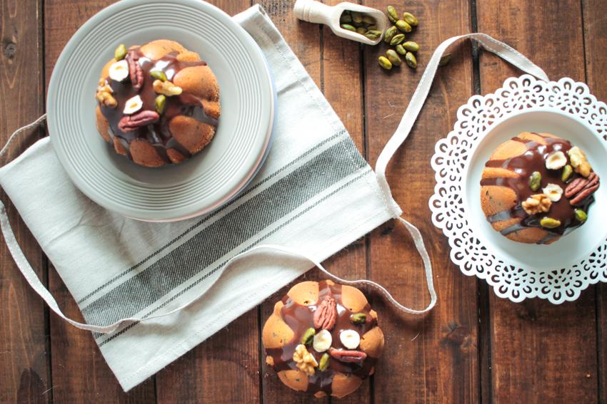 Bundt cake aux pépites de chocolat