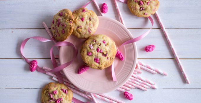 Cookies aux pralines roses #OctobreRose