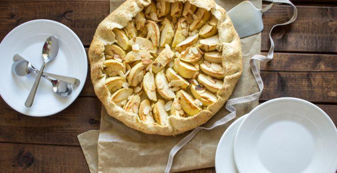 La tarte rustique aux pommes du dimanche