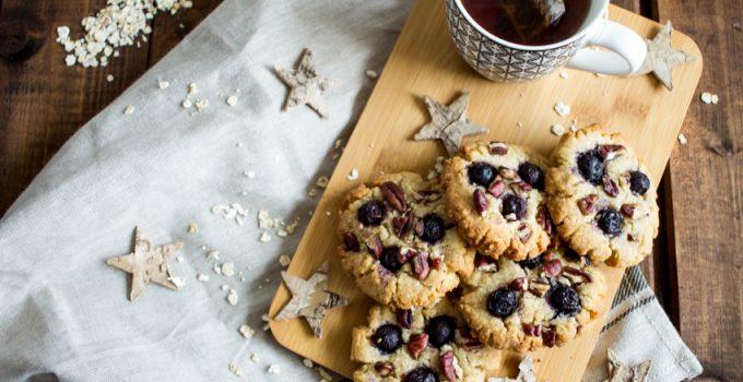 Cookies vegan aux myrtilles