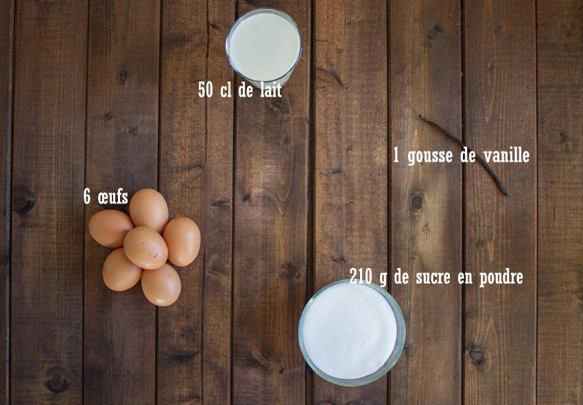 crèmes aux œufs