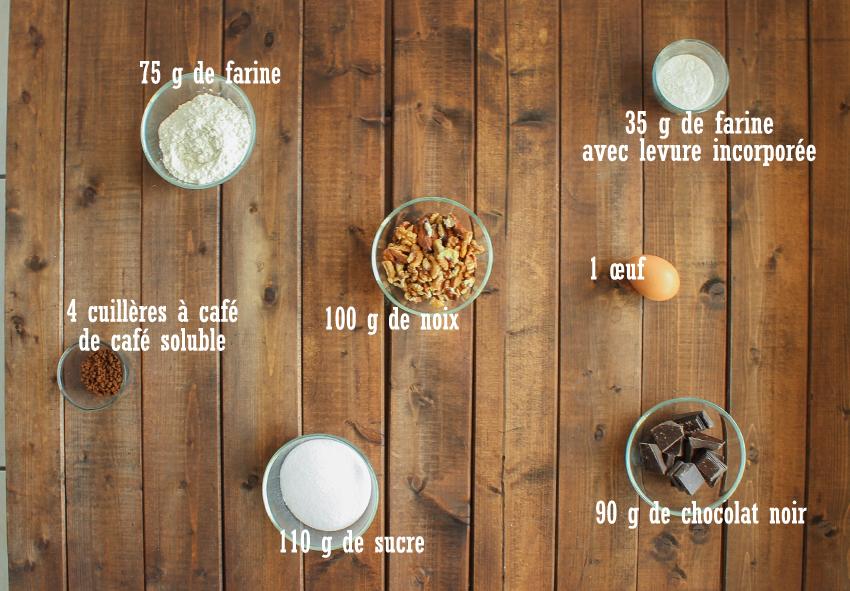 Biscotti au café et aux noix