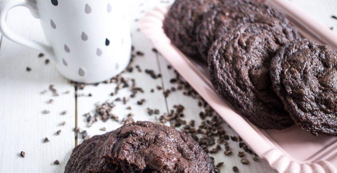 Biscuits au chocolat et aux griottes