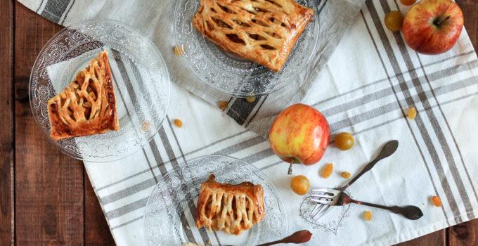 Feuilletés aux fruits d'automne #Croustibox
