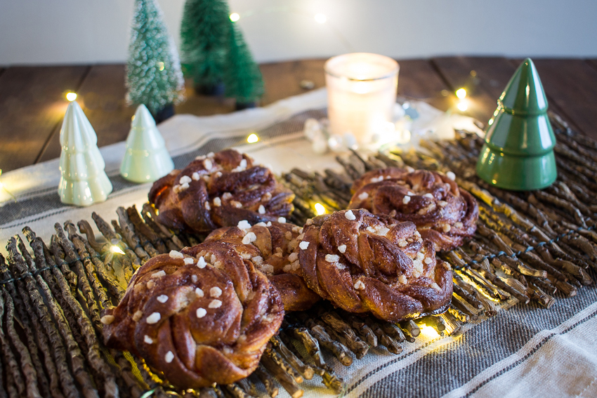 Kanelbullar ou brioches à la cannelle parfaites pour l'hiver !