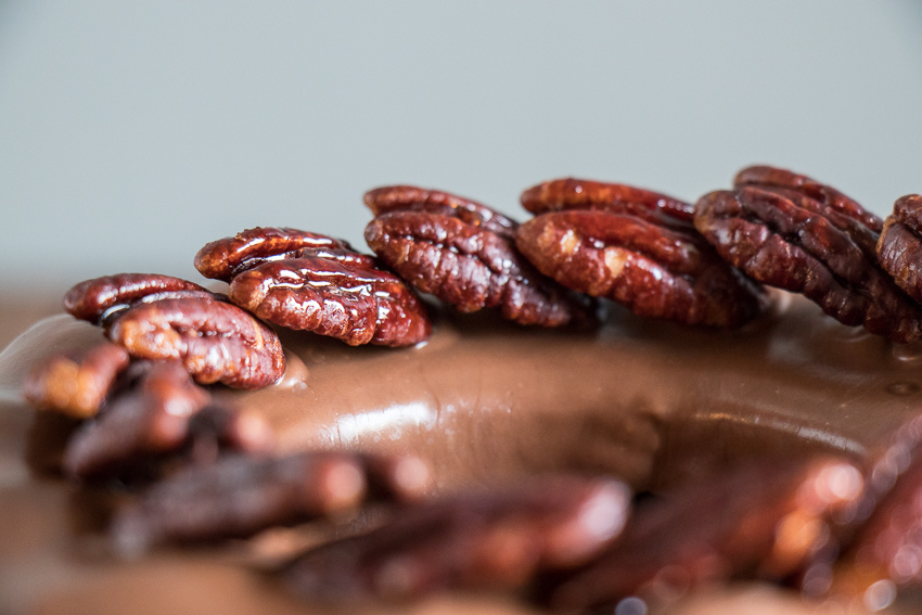 cake café chocolat pécan