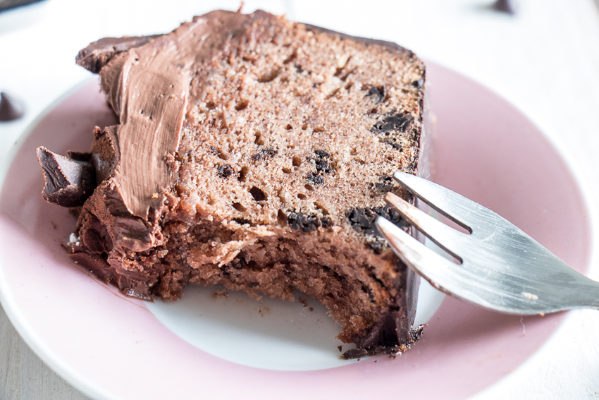 Cake tout chocolat de Christophe Michalak