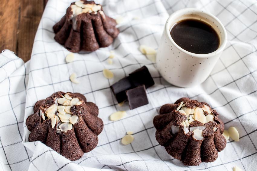 Petits gâteaux chocolat amandes