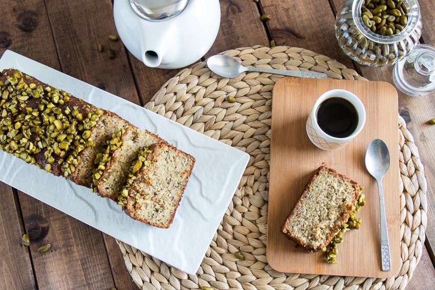 Cake amandes et pistaches