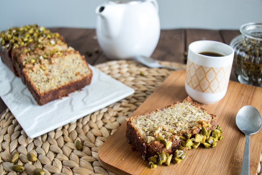 Cake amandes pistaches