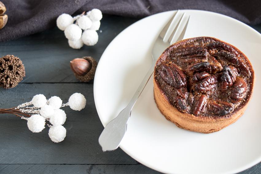 Mini pecan pies – tartes aux noix de pécan et golden syrup
