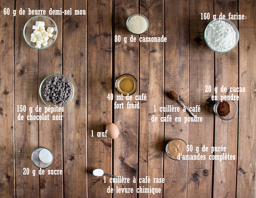 Cookies choco-café