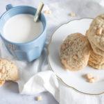 Cookies avoine, coco, chocolat blanc