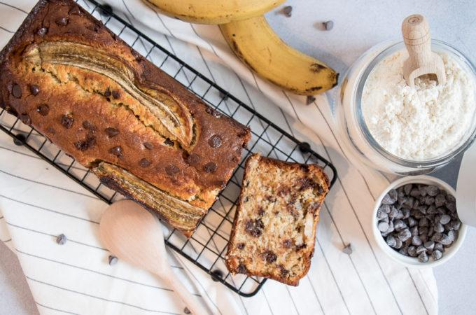 Banana bread coco choco