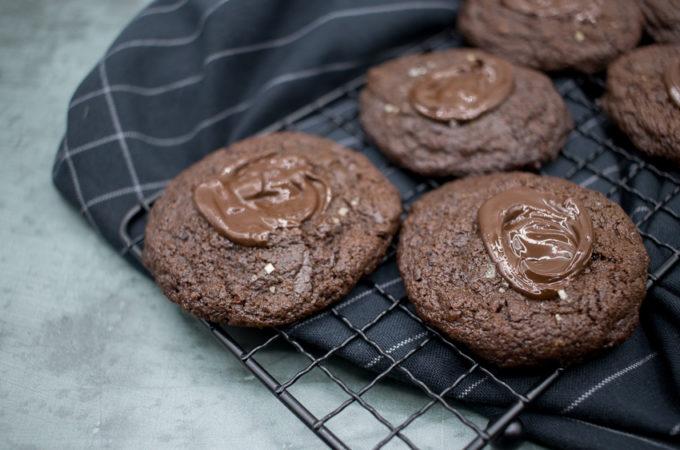 Cookies très chocolatés