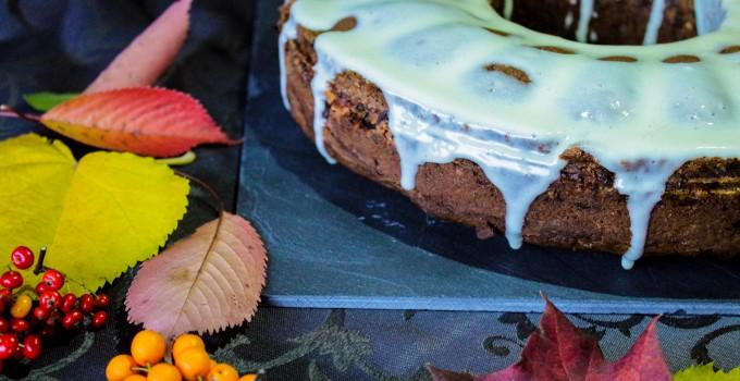Gâteau d'automne aux fruits secs