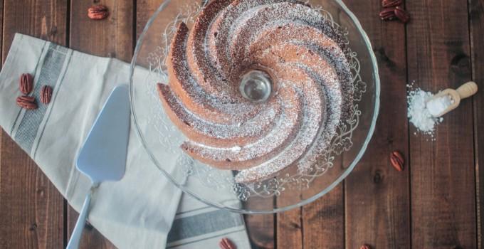Bundt cake sirop d'érable et noix de pécan