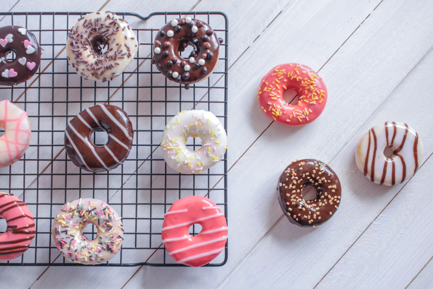 Mini donuts au four