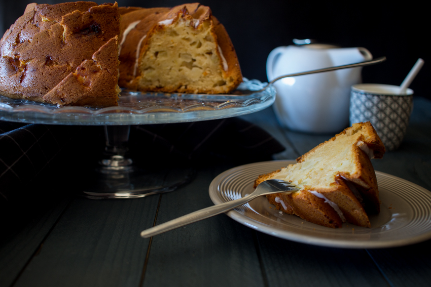 Bundt cake aux pommes