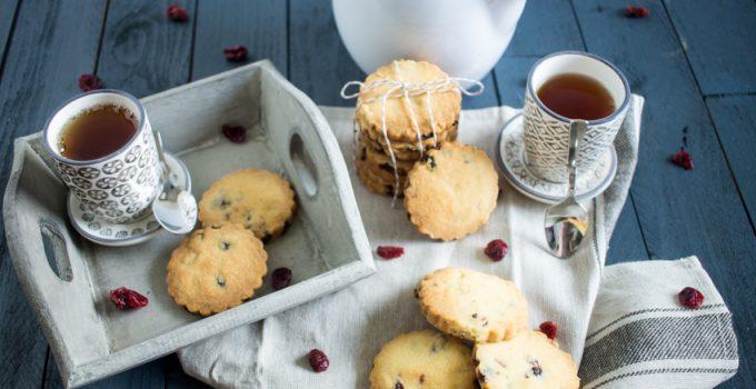Les cranberries shortbreads pour un «perfect teatime» !