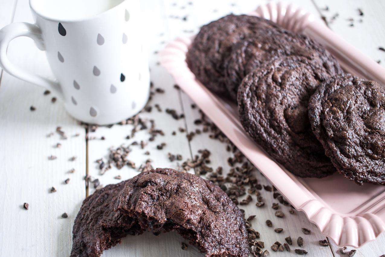 Biscuits au chocolat et aux cerises