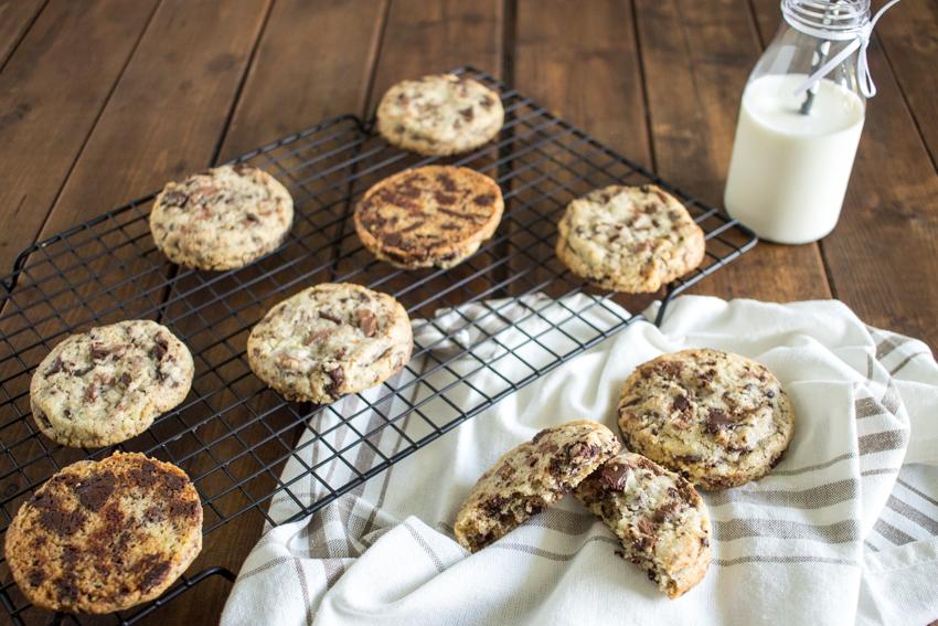 Les cookies aux deux chocolats de Cyril Lignac
