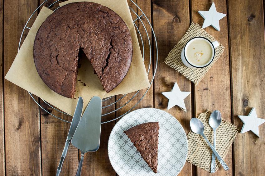 Un gâteau au chocolat très gourmand et fondant… et à la courgette !