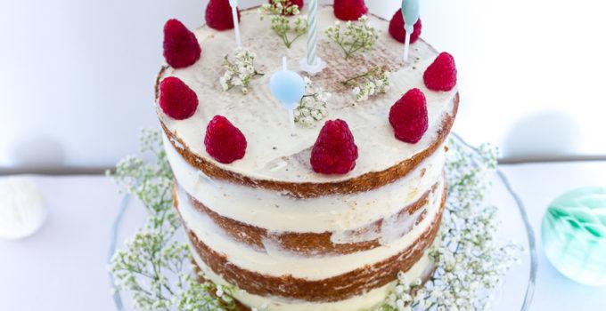 Naked cake aux framboises pour toutes les occasions !