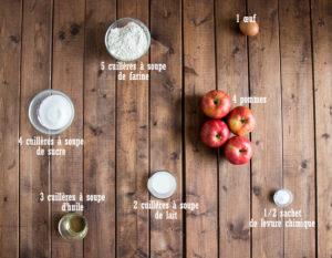 Gâteau aux pommes ultra facile