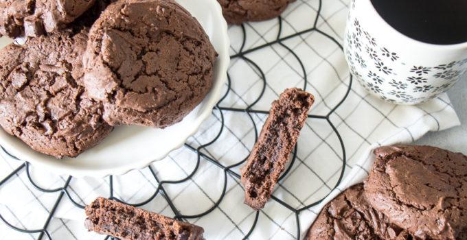 Cookies choco-café à tomber !