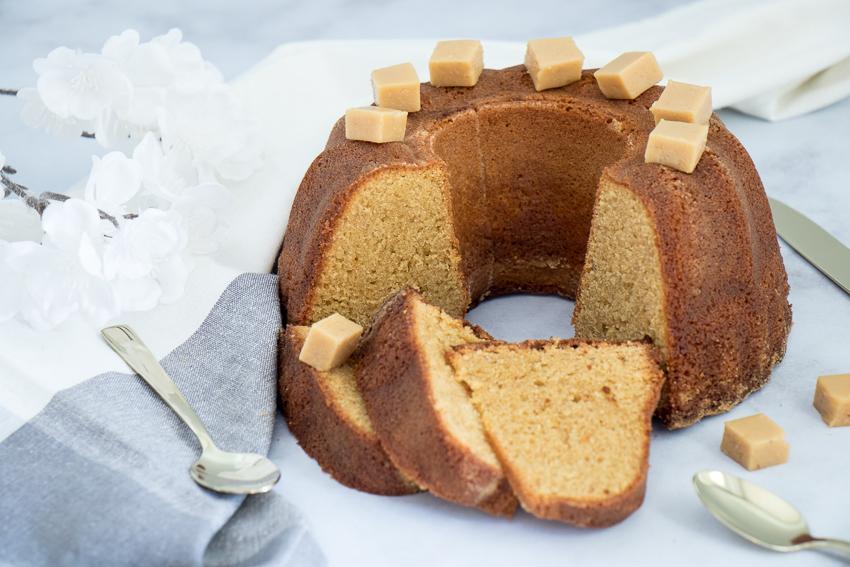 Cake banane muscovado de Christophe Michalak
