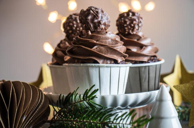 Cupcakes tout choco noisette