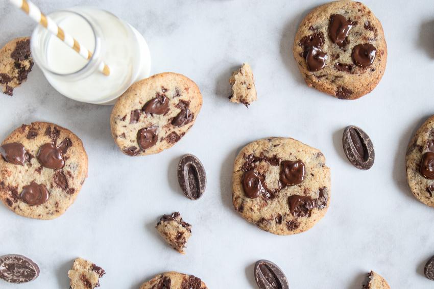 Cookies chocolat et praliné noisette