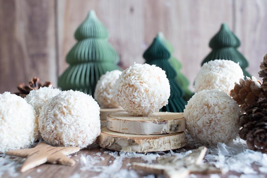 Bouchées coco ou comme des Rafaello maison